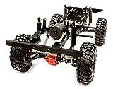 Integy RC Model Hop-ups C25759BLACK Billet Machined 1 10 Type D90 Roller 4WD Off-Road Scale Crawler ARTR