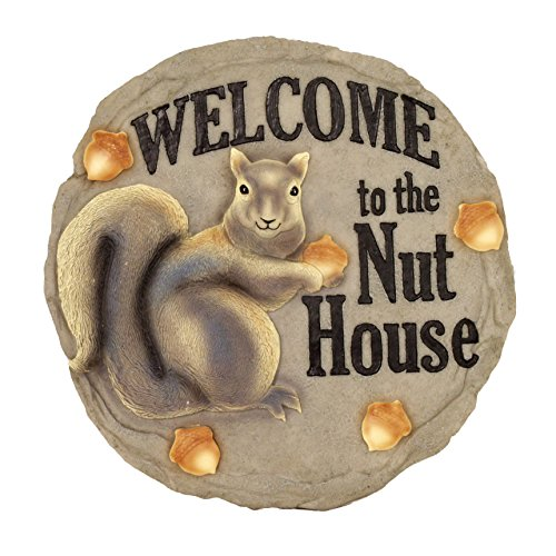 (Spoontiques Nut House Stepping Stone)