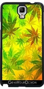 Funda para Samsung Galaxy Note 3 Neo/Lite (N7505) - Colores Rasta Y Marihuana