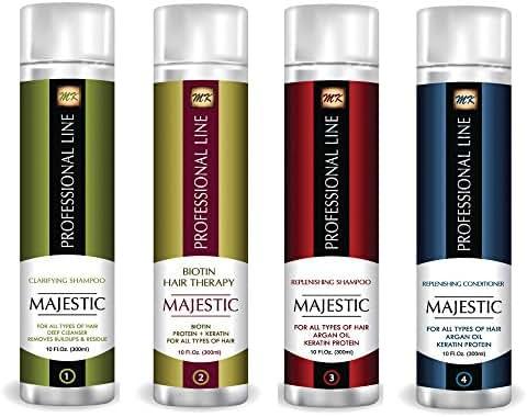 Majestic Biotin Hair Therapy 300ml(10 OZ) Complete Kit- Formaldehyde Free - USA