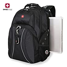 SwissGear Laptop Notebook Mac Book iPad Swiss Gear Swissgear 17 inch Outdoor ScanSmart Backpack - Premium High Quality -New Scale Only- Black