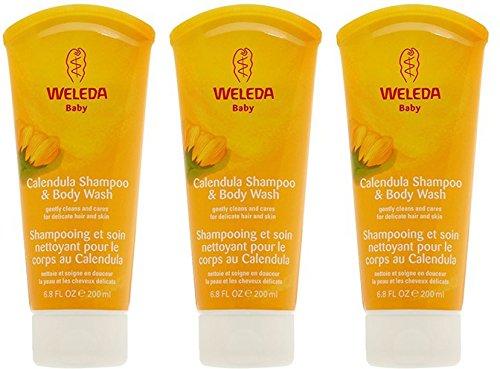 (3 PACK) - Weleda - Calendula Shampoo & Body Wash | 200ml | 3 PACK BUNDLE by Weleda