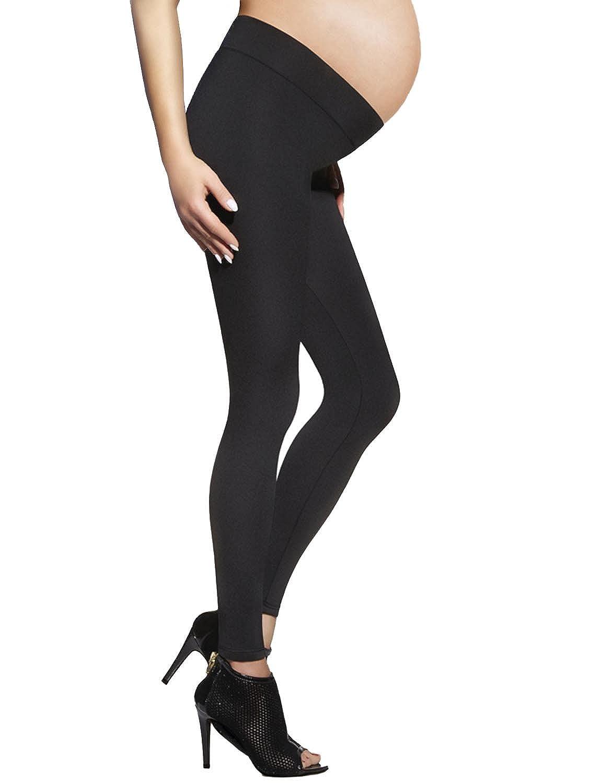 Classic Pregnancy Under Bump Leggings By Bas Bleu - Premium Quality - Made In EU Suzy