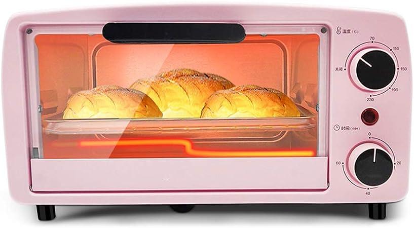 Mini horno de 10 l con temperatura ajustable 0-230 ℃ y 60 ...