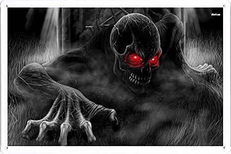 Amazon.com: Abstracto signo – # 3024 Esqueleto saliendo de ...