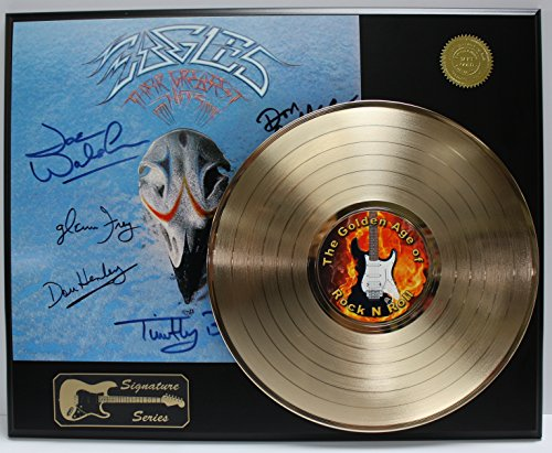 Eagles Gold LP Record Reproduction Signature Series Limited Edition Display ()