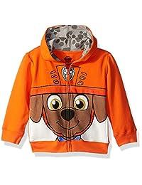 Nickelodeon Boys Toddler Boys Paw Patrol Character Big Face Zip-up Hoodies