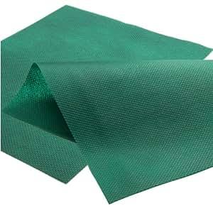 128 m² Malla antihierbas 3,20 m x 40,00 m - 80 g/m² Tejido Tela malas hierbas – verde