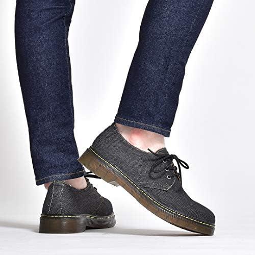 カジュアルシューズ メンズ ブランド 3ホール 3ホールシューズ 紐 おしゃれ デニム クリアソール ポストマンシューズ オックスフォードシューズ 男性の 紳士靴 男装 ブラック 黒 ネイビー 紺 靴 くつ 2020 冬 春