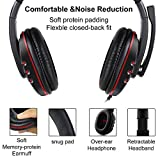 Zeion Gaming Headset Headphone with Microphone for