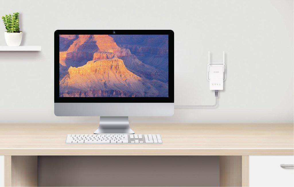 TP-Link AC750 Dual Band Wi-Fi Range Extender w/Gigabit Ethernet Port (RE210) by TP-Link (Image #6)