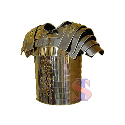 Souvenir India Brass Trimmed Roman Lorica Segmentata Armor