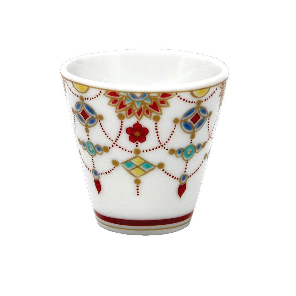 Kutani Guinomi Yoraku statement luck sake cup collection NO.2 (japan import)