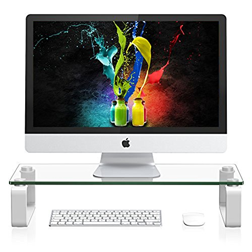 Computer Monitor Stand Riser For iMac and Accessor...