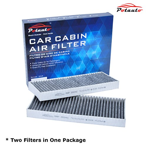 POTAUTO MAP 2004C Heavy Active Carbon Car Cabin Air Filter Replacement compatible with NISSAN, SUZUKI