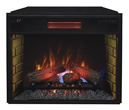 "Buy ClassicFlame 28II300GRA 28"" Infrared Quartz Fireplace Insert with Safer Plug: Fireplace & Stove Accessories - Amazon.com ? FREE DELIVERY possible on eligible purchases"