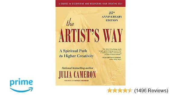 The Artists Way 25th Anniversary Edition Julia Cameron