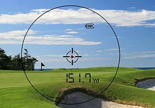 Precision Pro Golf NX7 Laser Rangefinder - Golfing Range Finder Accurate up to 400 Yards - Perfect Golf Accessory by Precision Pro Golf (Image #5)