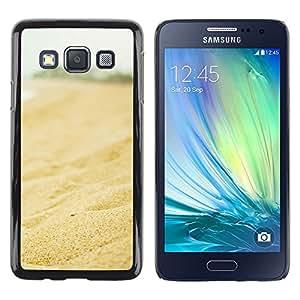Be Good Phone Accessory // Dura Cáscara cubierta Protectora Caso Carcasa Funda de Protección para Samsung Galaxy A3 SM-A300 // Nature Beautiful Forrest Green 122