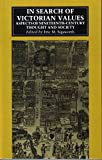 img - for In Search of Victorian Values: Aspects of Nineteenth-century Thought and Society by Eric M. Sigsworth (1990-06-07) book / textbook / text book