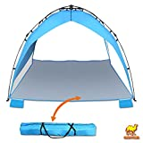 Strong Camel 2-3 Person Portable Waterproof Pop Up Beach Canopy Sun Shade Shelter Camping Tent Outdoor