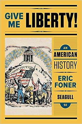 Amazon give me liberty an american history seagull fifth amazon give me liberty an american history seagull fifth edition vol one volume 0000393614174 eric foner books fandeluxe Gallery