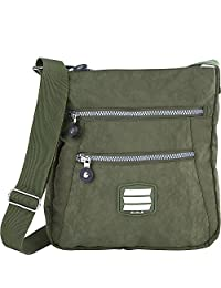 Suvelle Go-Anywhere Travel Crossbody Bag, Handbag, Purse, Shoulder Bag 20103