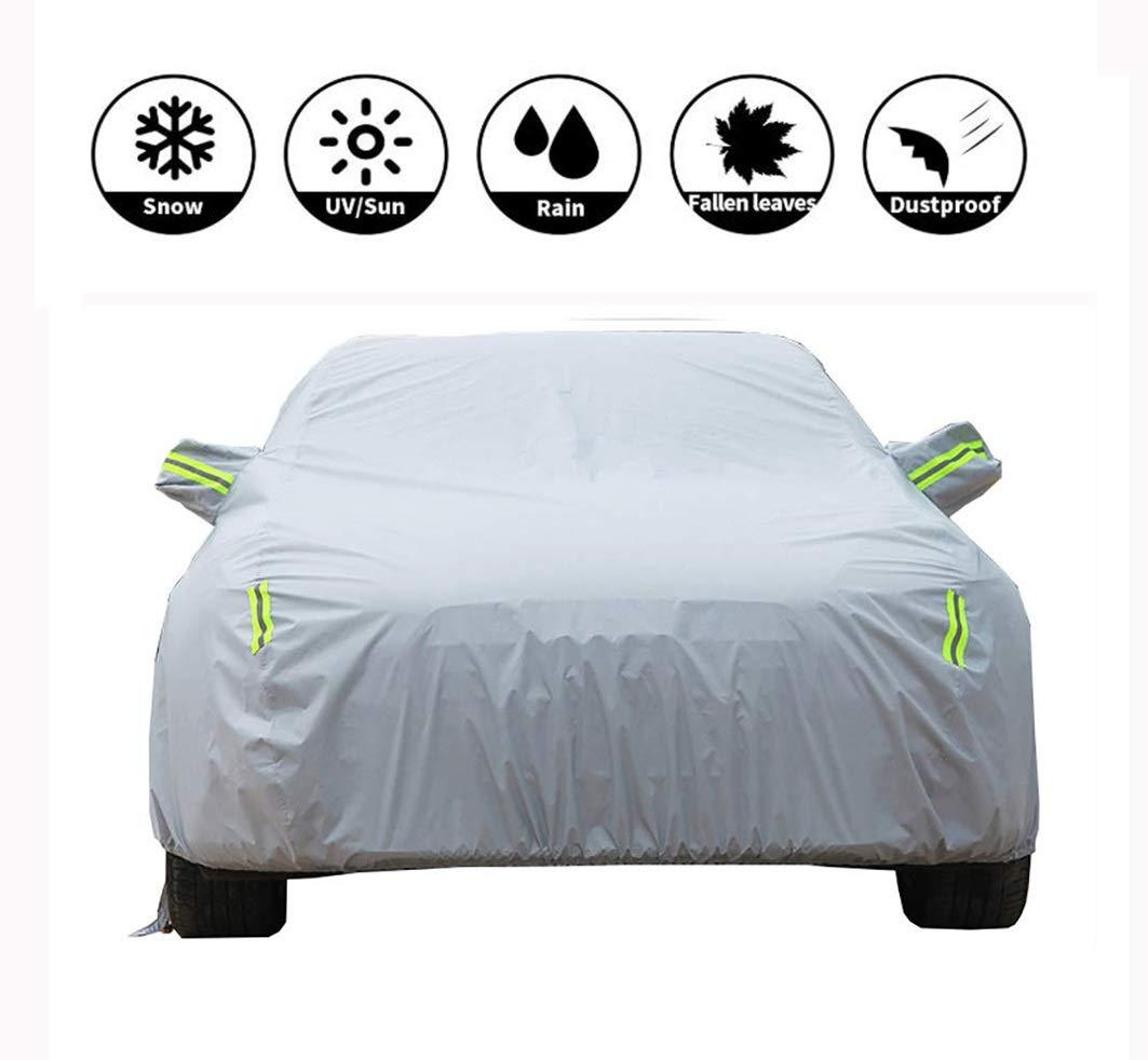 Couverture de voiture Imperméable/Neigeux/Imperméable au soleil/Antipoussière/Coupe-vent tous temps Protégez Fit Sedan Cover Extérieur Indoor Sedan Cover (Couleur : Gray-MX-5)