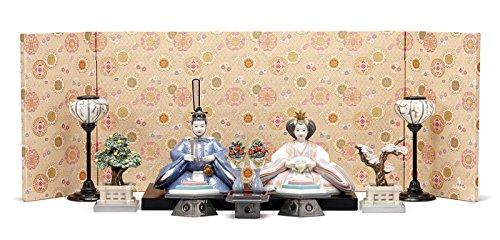 リヤドロ 雛人形 Lladro ひな人形 雛 平飾り 親王飾り 60周年記念モデル フルセット h313-01008624-FS   B00SQSS39S