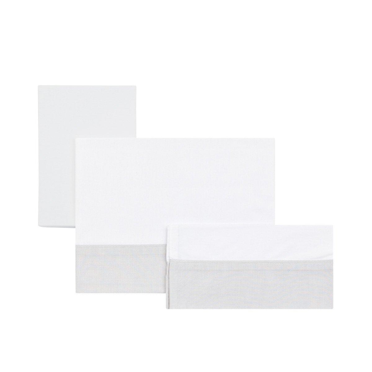 Cambrass Star - Sabana para capazo, pack de 3, color beige 35120.0