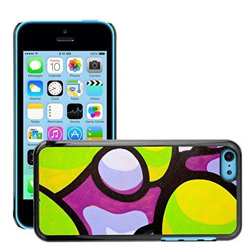 Premio Sottile Slim Cassa Custodia Case Cover Shell // V00002302 Graffiti // Apple iPhone 5C
