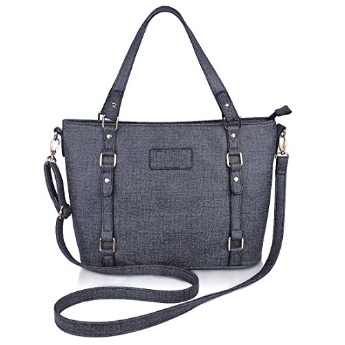 Crossbody Bags for Women,ZMSnow PU Leather Fashion Satchel Shoulder Handbags with Golden Hardware