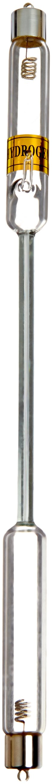 EISCO Premium Spectrum Tube, 26cm Height, Hydrogen (H) by EISCO
