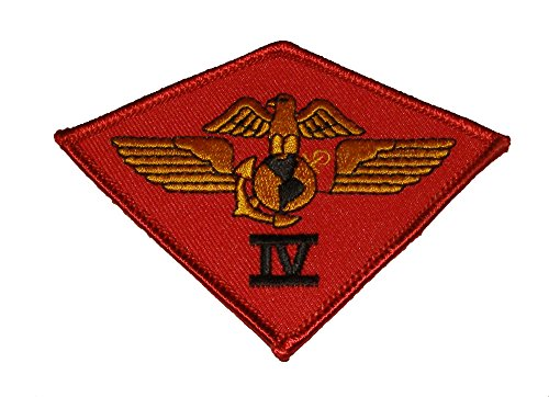 4TH MAW 4TH MARINE AIRCRAFT WING PATCH - Color - Veteran Owned Business. ()