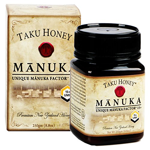 Sidr Honey - Taku Honey UMF 15+ Manuka Honey, 500g