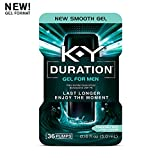 K-Y Duration Gel for Men - Last Longer & Enjoy The Moment, 36 pumps, (Condom Safe) Male Genital Desensitizer 0.16 oz