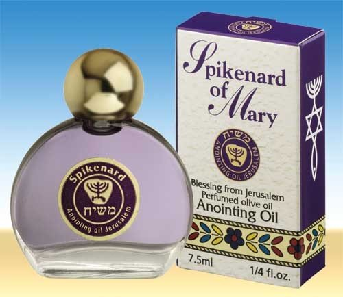 Spikenard of Mary Jerusalem Anointing Oil 0.25 fl.oz. from the Land of the Bible, Health Care Stuffs