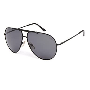 85a2dfd026 Oversized Polarized Aviator Sunglasses For Men Mirror Glasses Women Metal  Big Frame Grey Silver