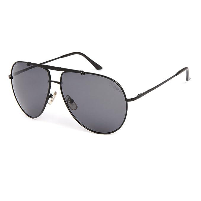 Designer Flieger Sonnenbrille Doppelt Rahmen Spiegel Metall Brille Damen Herren(Silber/Spiegel Blau) zYDyVwO6Yp