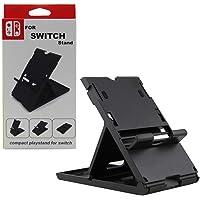Soporte Stand Base para Nintendo Switch Ajustable Multi Angulo Color Negro