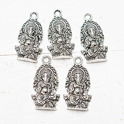 Amazon.com: Juego de 5 abalorios para hacer joyas, diseño de ...
