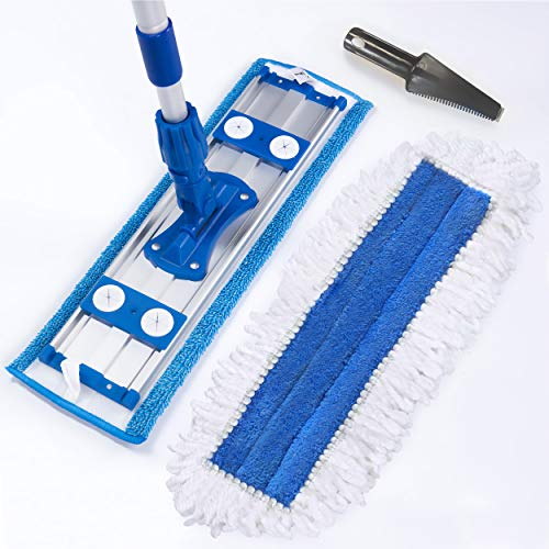 UZULIVING Microfiber Dust Mop with 70