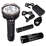 Fenix RC40 2016 Rechargeable LED Flashlight 6000 Lumens with 7800mAh rechargeable battery, Home/Car...
