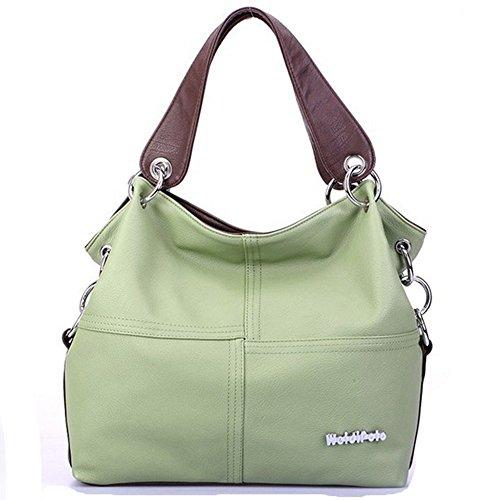 Eysee , Damen Tote-Tasche braun grün 33cm*32cm*11cm grün