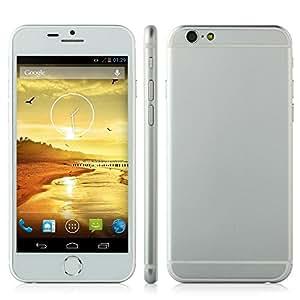 Mobiper air Smartphone android 4.2 MTK6582 4.7inch IPS QHD screen 3G GPS nano SIM card-white, [Importado de UK]