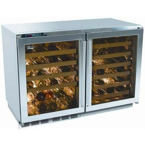 Perlick Built In Double Wine Reserve With Overlay Glass Doors (x 2) (Requires Custom ()