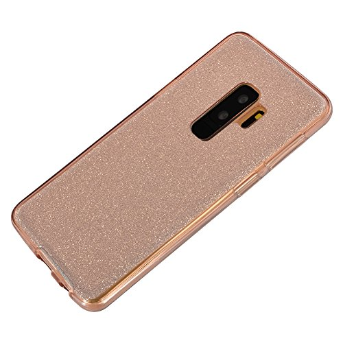 Sunroyal Funda Samsung Galaxy S9 PLUS 6.2 Carcasa Protectora 360 Grados Full Body TPU Gel Transparente Ultra Slim Case Cover Protección Completa Doble Smartphone Móvil Accesorio Sleeve [Resistente a  Modelo 07