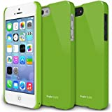 Ringke SLIM Series Slender Steadfast Bolstered Polycarbonate Hard Case for Apple iPhone SE / 5S / 5 - GREEN