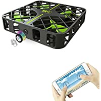 ToyPark Foldable Mini RC Drone with FPV VR Wifi Remote Control