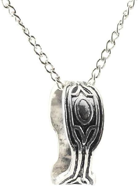 110f30d3e8807 Black Panther Wakanda King T'Challa Necklace Black Panther Cosplay Ring  Necklace